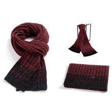 Knitted Patchwork Thickening Warm Fashion Wrap Scarves Shawl