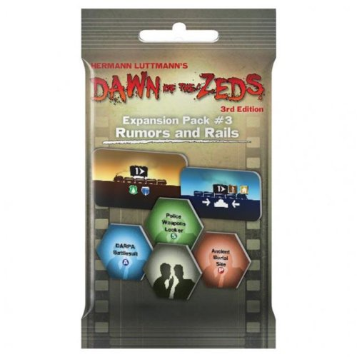 Victory Point Games VPG12030 Dawn of the Zeds Expansion Pack 3 Board Game