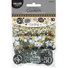 Gold Celebration 50th Confetti 34g -