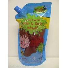 2 X HORRID HENRY REALLY HORRID HAIR & BODY WASH PARABEN FREE GENTLE 2x500ml