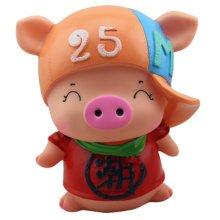 Creative Pig Piggy Bank For Saving Money Coin Bank Home Decor Ornaments B