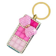 Rechargeable Lighter Stylish Rhinestone Windproof Cigarette Lighters with USB, A3