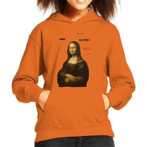 A.P.O.H Leonardo Da Vinci Mona Lisa Masterpieces Quote Kid's Hooded Sweatshirt