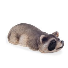 Timmy the Realistic Garden Pond Feature Floating Raccoon Animal Ornament
