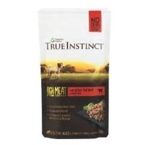 True Instinct Selected Beef Fillets for Small Breed Dogs, 8 x 150g