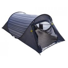 Summit 2 Man Tent - Hydrahalt Pop Up Tent - Grey -  tent pop up 2 aztec camping 1500mmhh berth summit hydrahalt grey