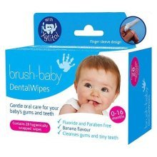 Brush-Baby Dental Wipes 28