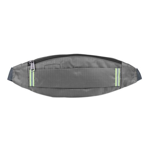 Outdoor Sports And Leisure Large Capacity Fashion Waist Bags, Gray