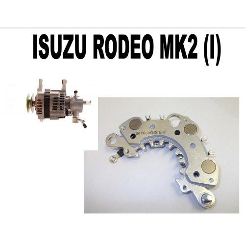 Isuzu rodeo mk2 (I) 2.5 3.0 pickup 2002 - 2012 new alternator rectifier