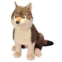 "Wild Republic 19518 53cm ""little Biggies Wolf"" Plush Toy - Little Jumbo 24 Wolf -  wild republic little biggies jumbo 24 wolf soft toy cuddly 19518"