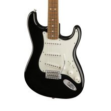 Fender Standard Stratocaster Electric Guitar, Black, Pau Ferro