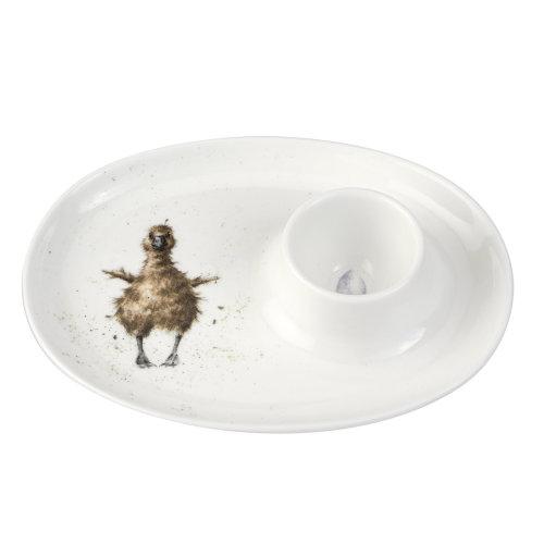 Wrendale Designs Egg Saucer, Duck