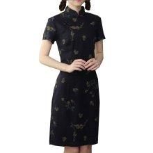 Elegant Chinese Dress Qipao Dresses Cheongsam Women Clothing Skirt XXL-04