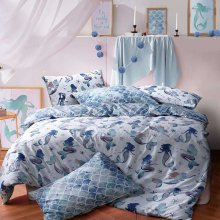 Pieridae Mermaid Duvet Cover Quilt Cover Bedding