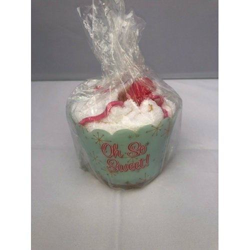 Oh So Sweet! - Birthday Cake Shaped Soap and Flannel
