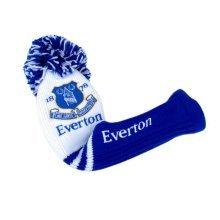 Everton Pompom Driver Headcover - Golf Fc Football Club Official -  everton driver golf pompom headcover fc football club official
