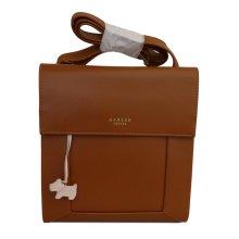 RADLEY 'Border' Tan Leather Small/Medium Across Body Bag