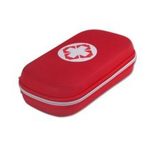 Creative Portable First Aid Kit Travel Medical Box for Camping, Hiking-Red