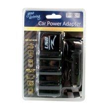 Car Power Adapter - Boyztoys Ry666 Adaptor 3 Lighter Sockets Usb Charger New -  boyztoys ry666 car power adaptor 3 lighter sockets usb charger new