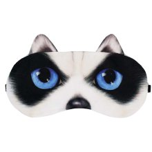 Dog Expression Sleep Mask Sleep Goggles Eye Cover