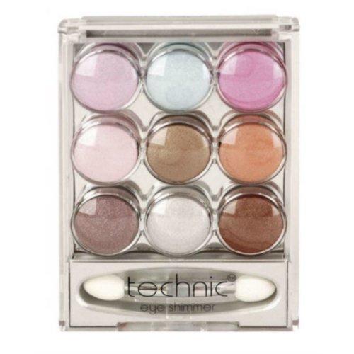 Technic Cream Eye Shimmer 9 Colours Set 1