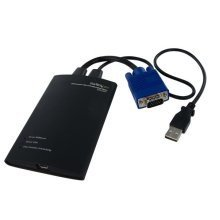 StarTech.com KVM Console to USB 2.0 Portable Laptop Crash Cart Adapter KVM cable