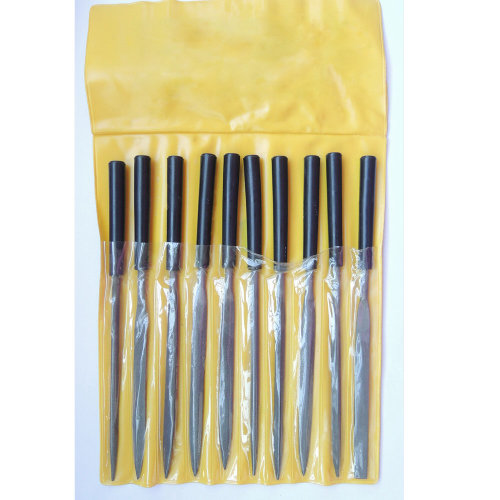 TRIXES Set of 10 Hobby Needle File Tools