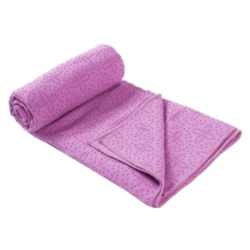 [E] Non-Slip Yoga Towel Sweat Absorbent Yoga Mat Towel Yoga Blanket