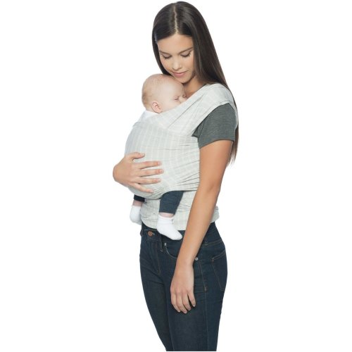 Ergobaby Lightweight Wrap Aura - Grey Stripes