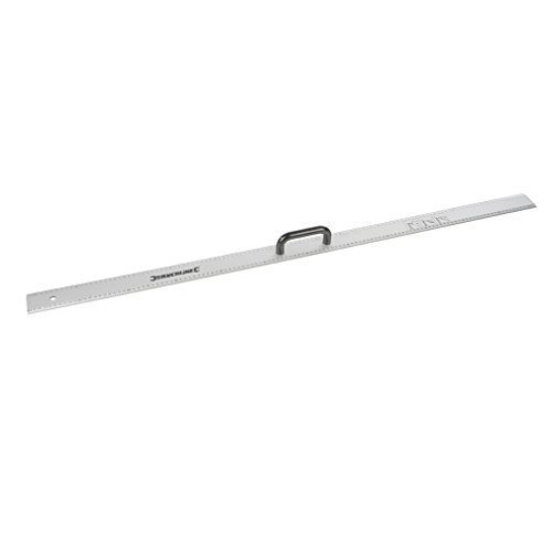Silverline Aluminium Rule With Handle 1200mm - 731210 Ruler -  aluminium rule handle silverline 1200mm 731210 ruler