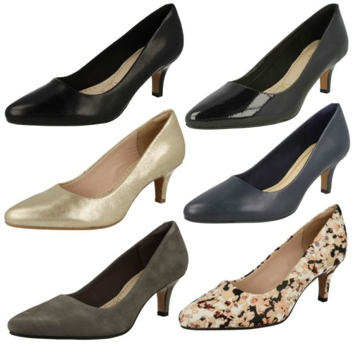 Ladies Clarks Smart Court Shoes Isidora Faye - E Fit
