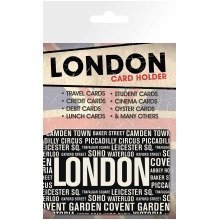 London Areas Travel Pass Card Holder