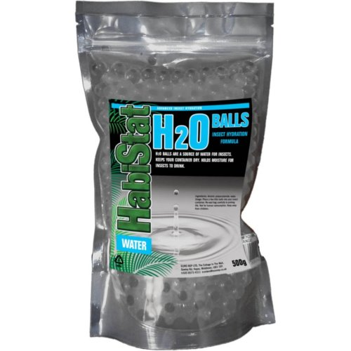 Habistat H2o Balls Insect Hydration Black