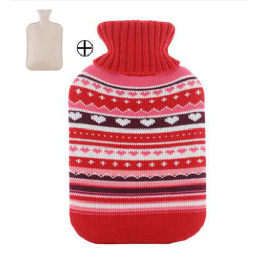 Hot Water Bottle Useful Gift for Girls - 2 L