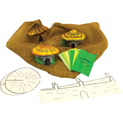Make a Bronze Age Village KS2 History Craft Activity (Pack of 30)