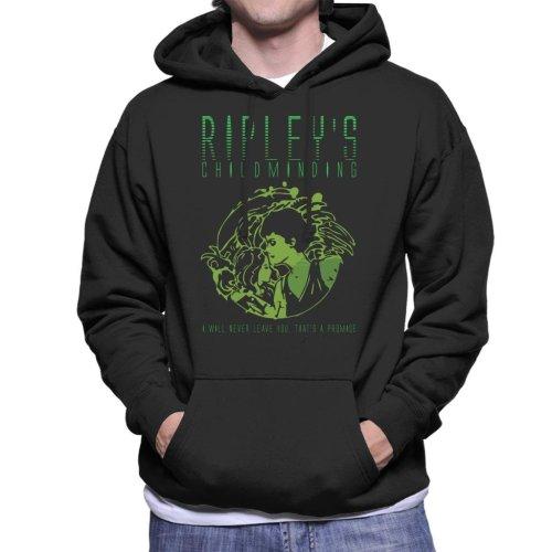 (Medium) Ripleys Childminding Aliens Men's Hooded Sweatshirt