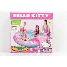 Hello Kitty Splash Play Pool with Slide