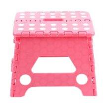 Creative Plastic Foldable Step Stool Portable Folding Stools Stepstool for Kids & Adults, No.7