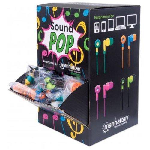 Manhattan 178822 SoundPOP Earphone Countertop Display & Dispenser