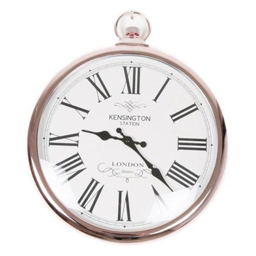 Copper Pocket Watch Clock Kensignton Station Large Wall Clock 42cm