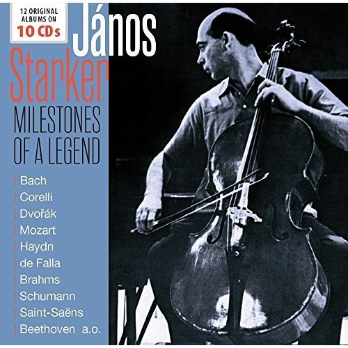 János Starker - Milestones Of A Legend - 12 Original Albums [CD]