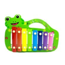 Hammer Percussion Hand Knock Children Music Toy Piano--Frog 2