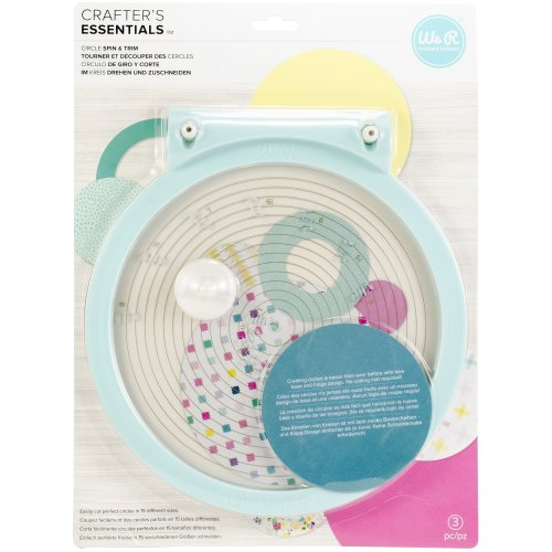 We R Memory Keepers Circle Spin & Trim-