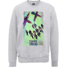 Small Dc Comics Suicide Squad Movie Poster Men's Sweatshirt. -