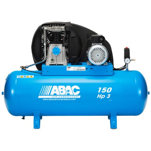 Abac A39B Pro 3 Hp 1 Phase 150 Litre Air Compressor