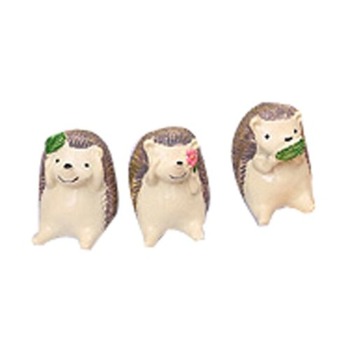 Set of 3 Creative Animal Decoration Zoo Toys or Kids,1.6''
