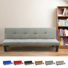 Sofa Bed with 2 seats in Microfiber Many Colours ONICE
