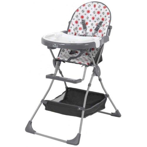 Kidsaw Kudl Kids Highchair with Storage Basket 252 - Grey