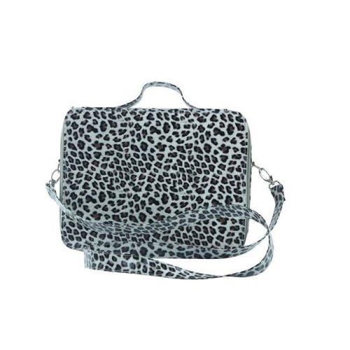 Picnic Gift 7124-CT Cosmopolitan Insulated Adjustable Make Up Travel Organizer, Cheetah
