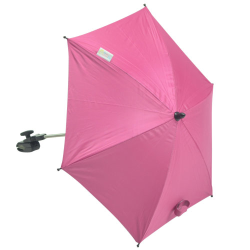 Baby Parasol compatible with Chicco Twin Together Hot Pink